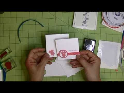 Stamping 101:  Selecting Your First Stamp Sets and a quick baby gift card