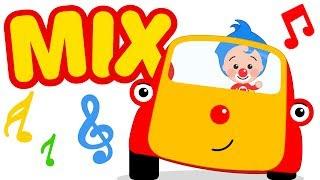 En Tuni Bus Auto y Avión - Mix - Plim Plim | El Reino Infantil