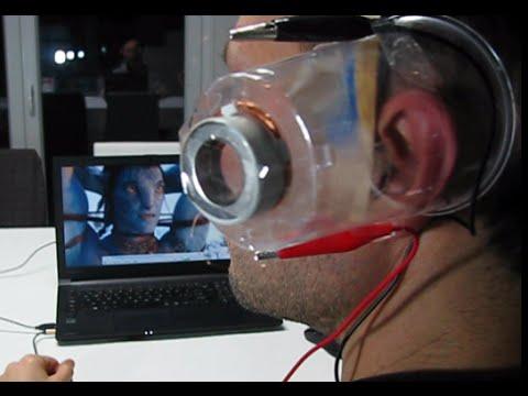 SIMPLE SPEAKER with Neodymium Magnet , Homemade Headset