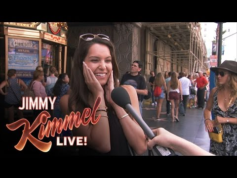 Pedestrians Answer Miss America Questions