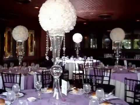 Rose Ball Pomander Centerpieces at The Coral House NY