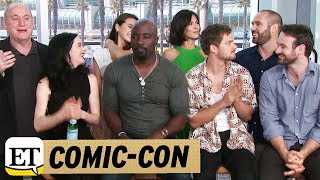 Comic Con 2017: Live With The Cast Of Marvel