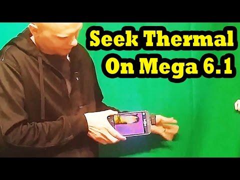 Seek Thermal Running on Galaxy Mega 6.1