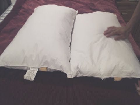 Puredown Goose Down and Feather Pillow Review