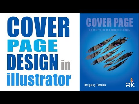 How to create a Cover Page Design in Illustrator