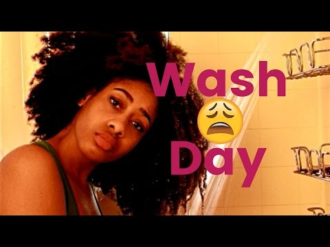 How I Cowash and Detangle My Long 4C Natural Hair