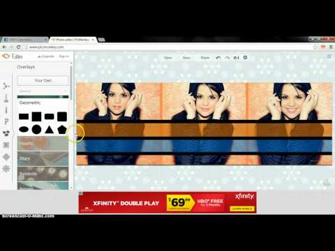 How to Make A FB Cover Using PicMonkey