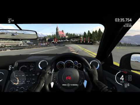 Forza 6 - Bernese Alps - GTR - Manual W/ Clutch