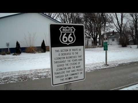 Lisa Blacker's Road Trip Chicago to LA: Route 66 at Lexington, IL