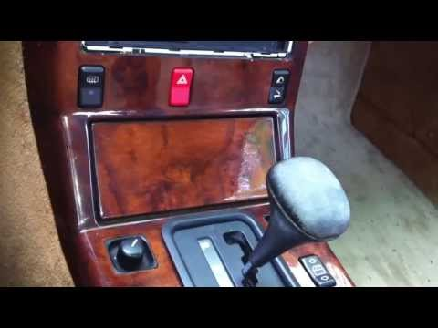 Older Mercedes automatic shift knob removal/replacement