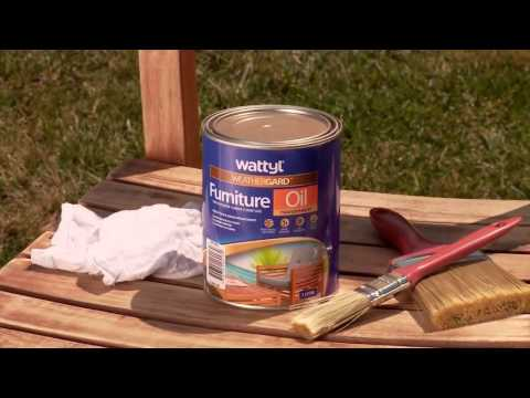 How to Revitalise Outdoor Timber Furniture