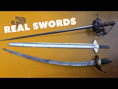 Prop Swords vs Real Swords with Chris Menges - Prop: Shop