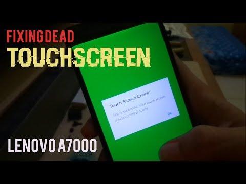 How to Fix Dead Touchscreen (LENOVO A7000)