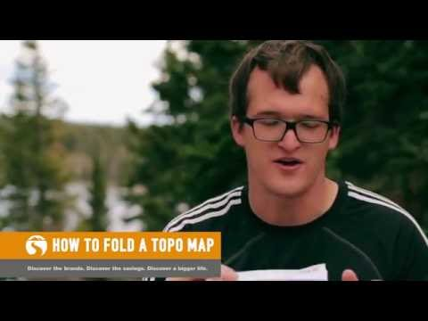 How To Fold A Topo Map