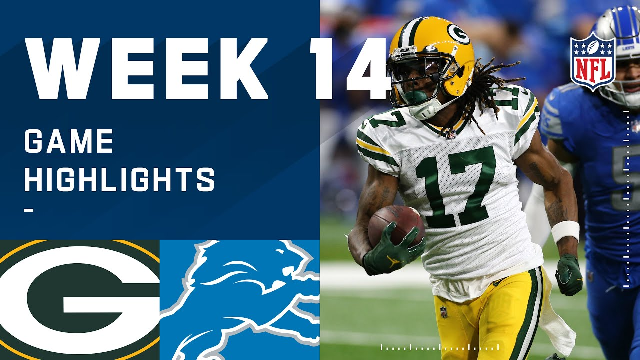 Packers vs. Lions Week 14 Highlights | NFL 2020