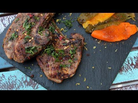 [ENG] Grilled Lamb Chops / شرائح لحم الضأن المشوية - CookingWithAlia - Episode 451