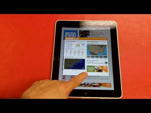 Apple iPad USA Today and WSJ Review