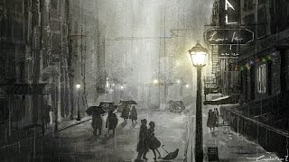 """In the rain"" 로맨틱한 수면음악 - 그대는 꿈이었을까.."