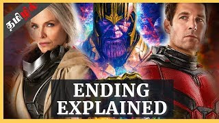 Ant-Man and the Wasp (2018)   Ending Explained In Tamil  (தமிழ்)   what