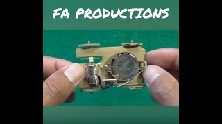 How To Make A Mini Toy Car I Easy Tutorial I Toy For kids I Easy To Make At Home
