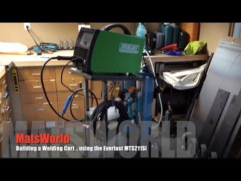 Welding Shenanigans - Let's make us a DIY welding cart