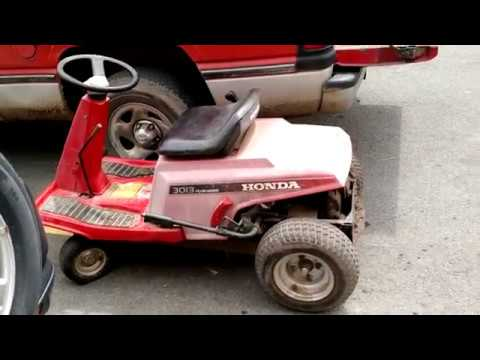 Turning An Old Riding Mower Into An ATV. Honda 1303 Gets Converted Into A UTV