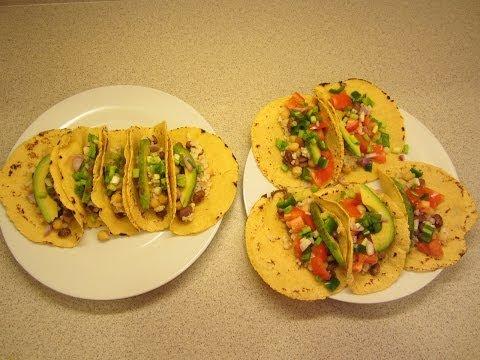 Homemade vegan corn tortilla  shells. Bean and rice taco's, plus no salt Fritos
