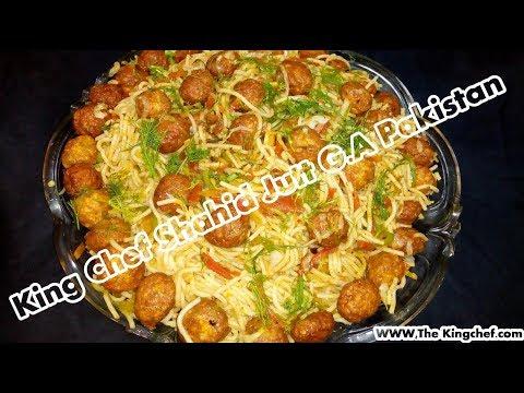 Chinese Spaghetti With Chiken Balls King Chef Shahid Jutt G.A pakistan