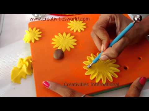 Sunflower Fondant Flower- Cake Decoration
