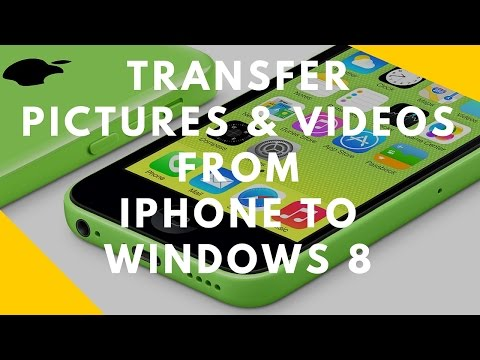 How to Transfer Pics & Videos from iPhone to Windows 8 & 10
