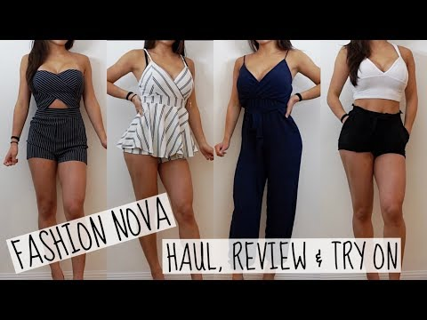 FASHION NOVA SUMMER Haul, Review & Try-On | Honest Opinion