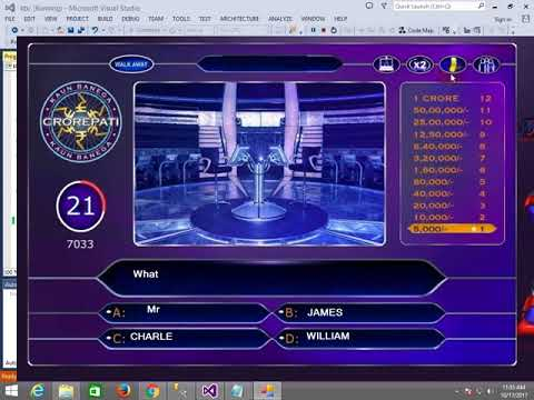 How to make KBC game in C# (part-2/5)