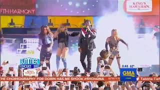 fifth harmony down live on good morning america