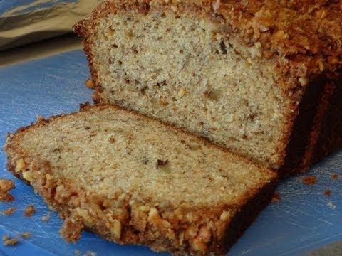 Banana Nut Peanut Butter Bread
