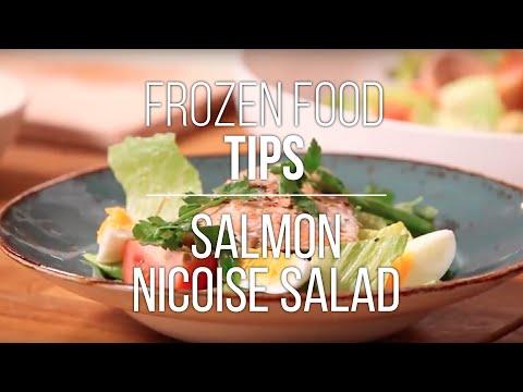 Frozen Food Tips: Salmon Nicoise Salad Recipe