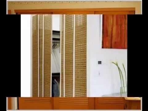 Simple bedroom closet door ideas