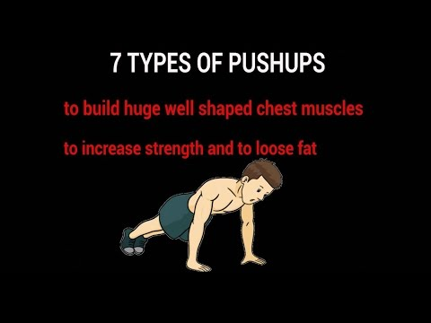7 Types Of Pushups To Build Huge Chest, Arms And Shoulders