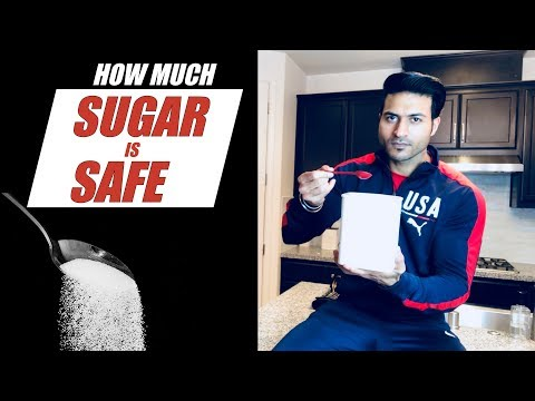 How much SUGAR a day is SAFE | Checkout Guru Mann's simple Formula to Calculate it