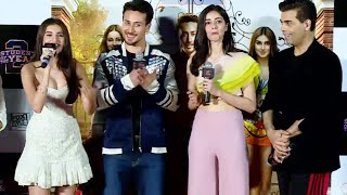 Download Tara Sutaria Singing Lag Ja Gale at The Trailer Launch of Student Of The Year 2 Video