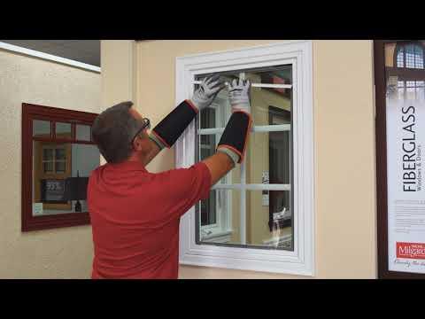 Field Glazing Milgard Fiberglass Windows