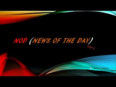 NOD (News of the Day)