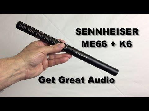 Sennheiser ME66 K6 Shotgun Microphone Tutorial for Making Great Audio, iPhone