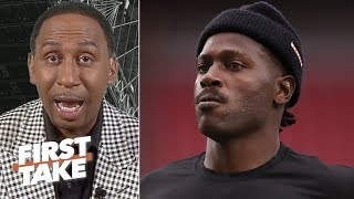 Antonio Brown has been an 'absolute embarrassment' with his behavior – Stephen A. | First Take