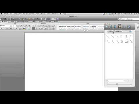 How to Insert Dashed Lines on Word With a Mac : Sharpen Your Computer Skills