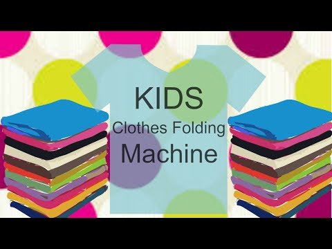 HACK | Kids Folding Clothes Card Board | DIY Clothes Folding Board for kids