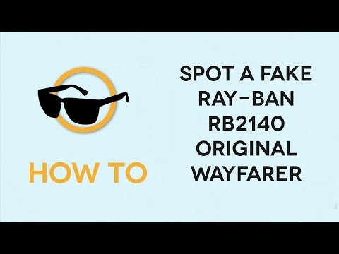 How to spot Fake Ray-Ban RB2140 Original Wayfarer Sunglasses