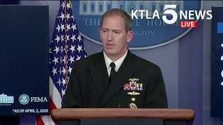 Coronavirus: White House task force addresses COVID-19 response