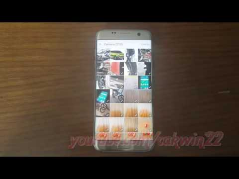 Samsung Galaxy S7 Edge : How to Change Contact picture (Android Marshmallow)
