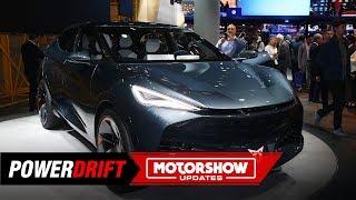 CUPRA Tavascan Electric Concept: The lesser known Volkswagen : IAA 2019 : PowerDrift