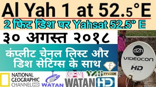 Yahsat satellite | New channels added to yahsat 52e| yahsat